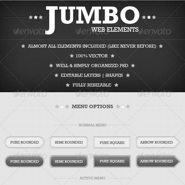 Jumbo Web Elements