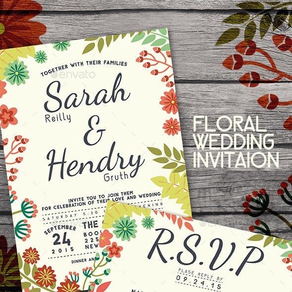 Wedding Package Floral Theme