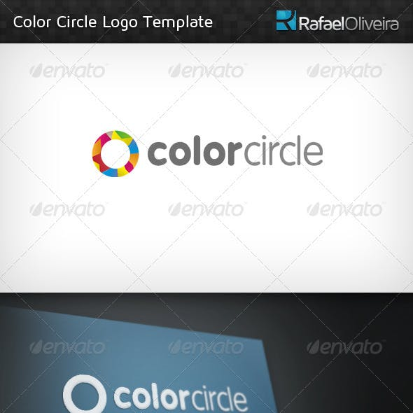 Color Circle Logo Template