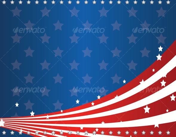 us flag - Seasons/Holidays Conceptual