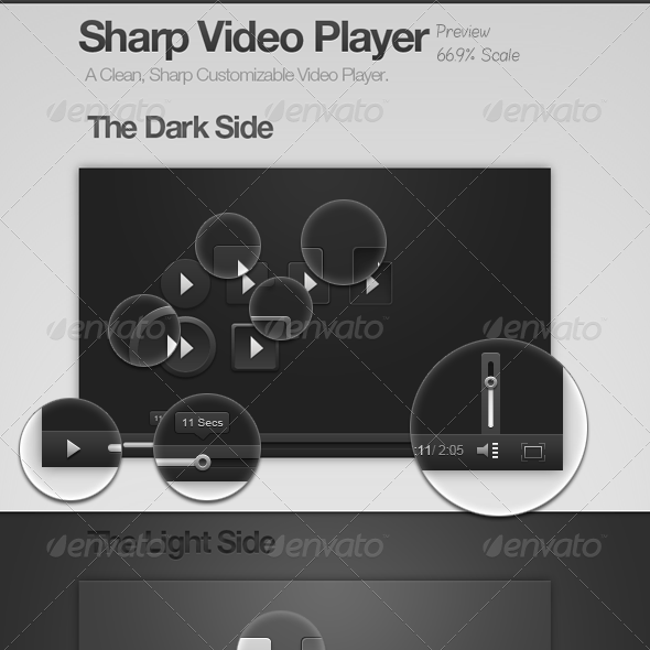 Sharp Video Player