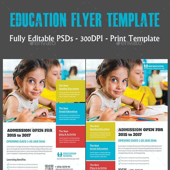 Education Flyer Temp