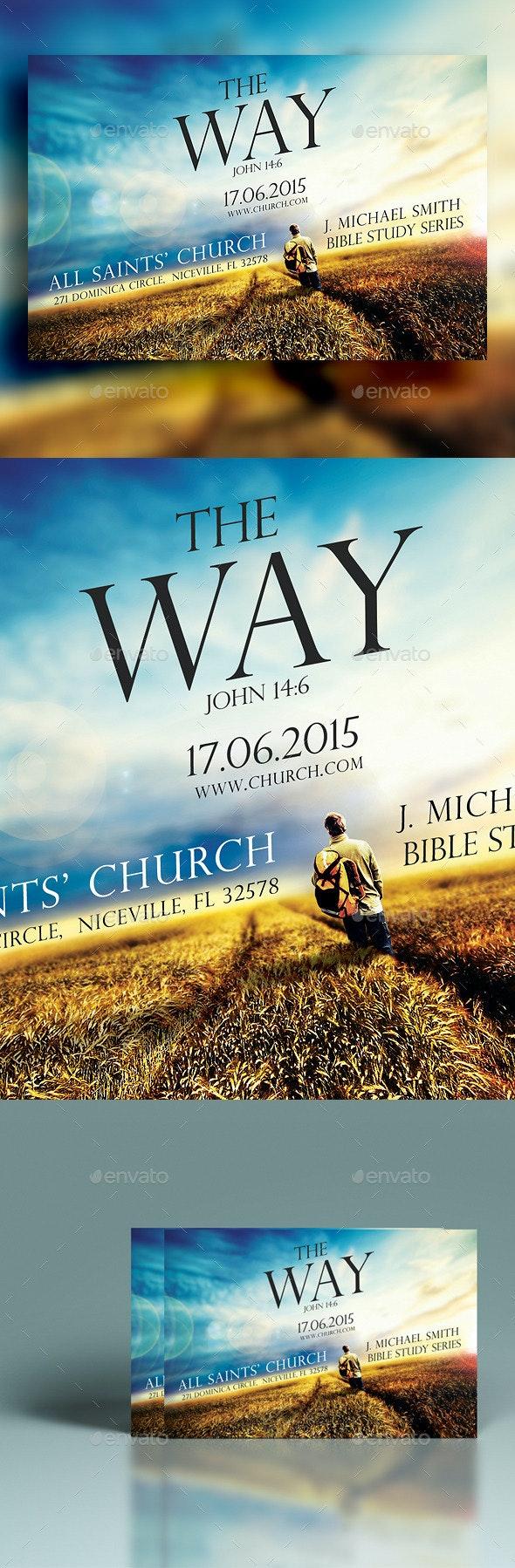 The Way Church Flyer - Church Flyers