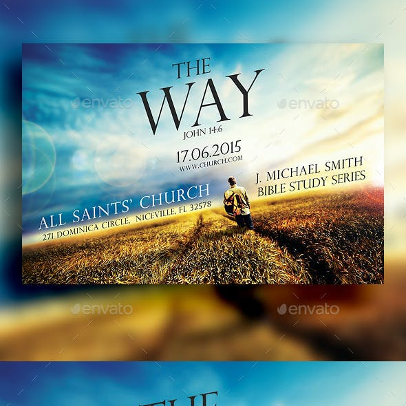 The Way Church Flyer