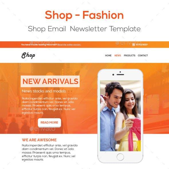 Fashion Shop E-Newsletter Template