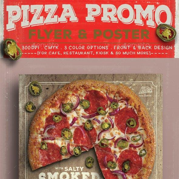 Pizza Promo Flyer