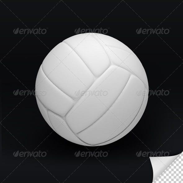Volley Ball 3D Render