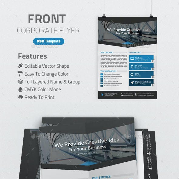 Front Corporate Flyer