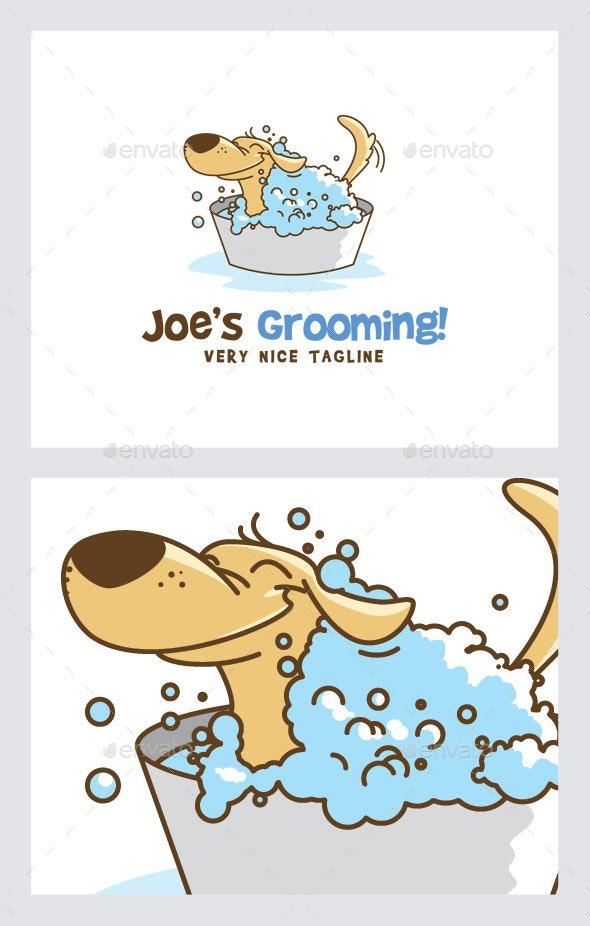 Pet/Dog Grooming Logo