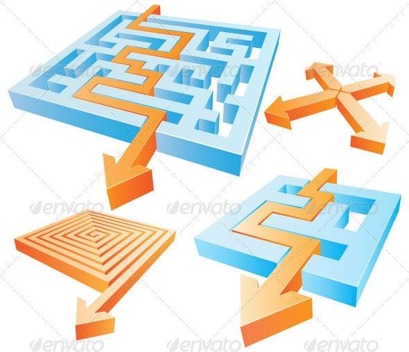 Labyrinth - Miscellaneous Vectors