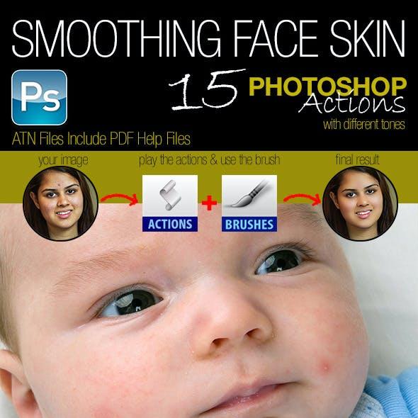 Smoothing Face Skin