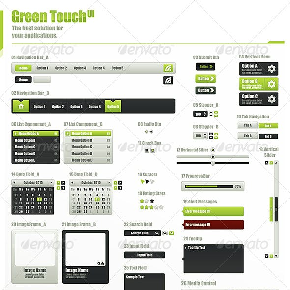 GreenTouch UI