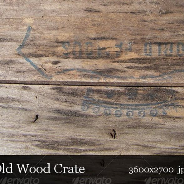 Old Wooden Crate - Single Pack Series