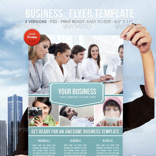 Business II - Flyer Template