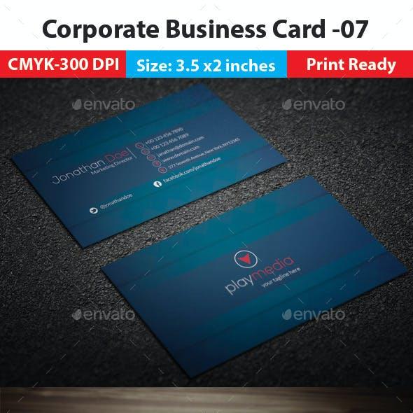 Corporate Business Card -07