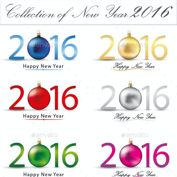 Collection of New Year 2016