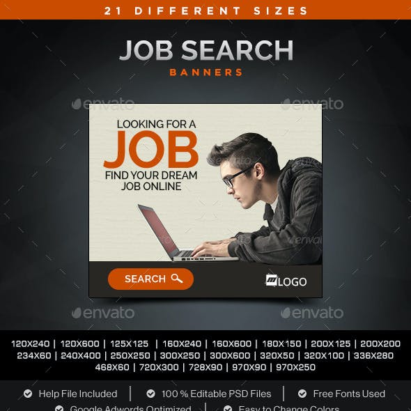 Job Search Banners