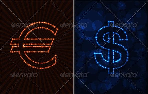 Money - Decorative Symbols Decorative