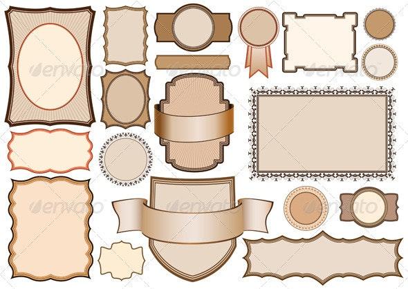 Design elements - Decorative Vectors