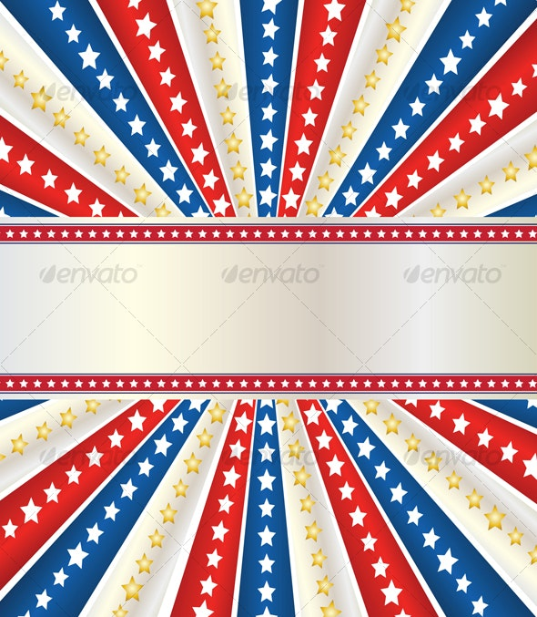 america's independence day design - Decorative Vectors