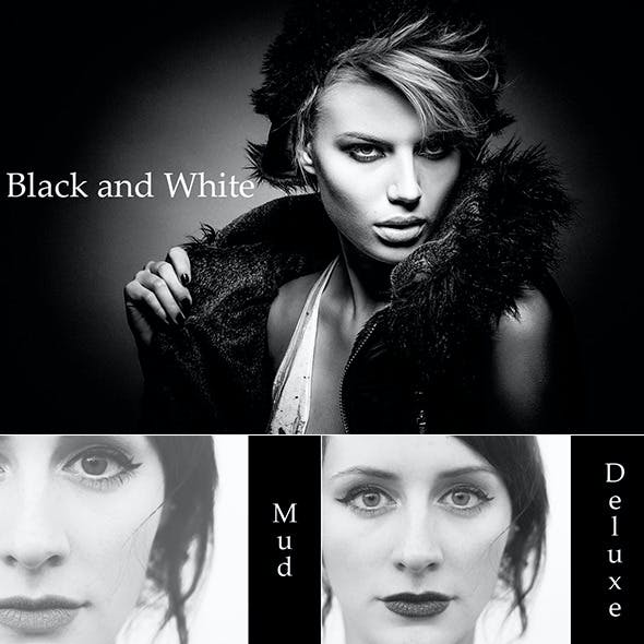 20 Black and White Actions