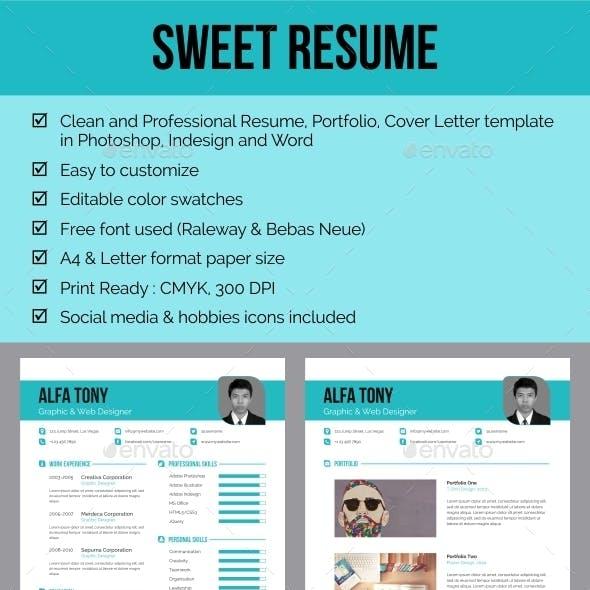 Sweet Resume