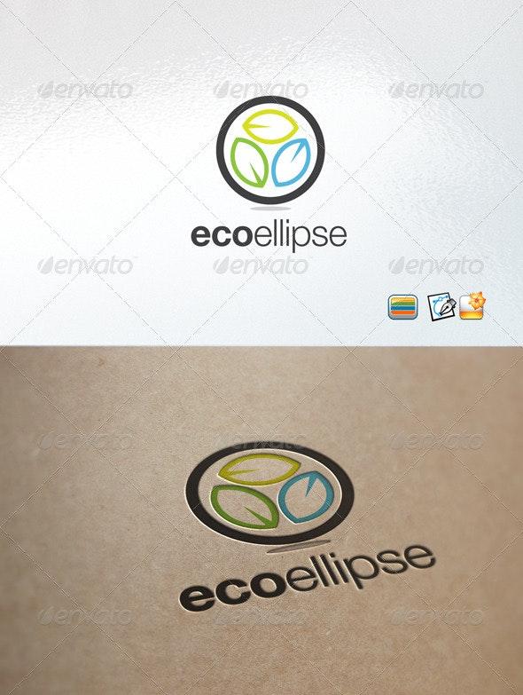 ecoellipse logo - Nature Logo Templates