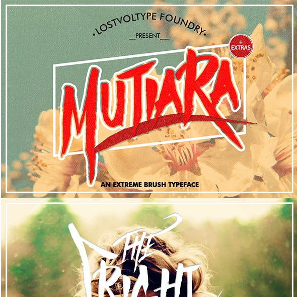 Mutiara Brush + Extras