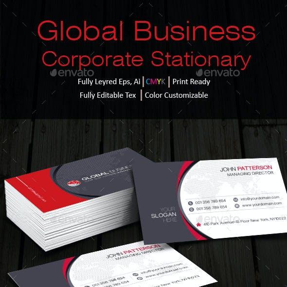 Global Business Stationary