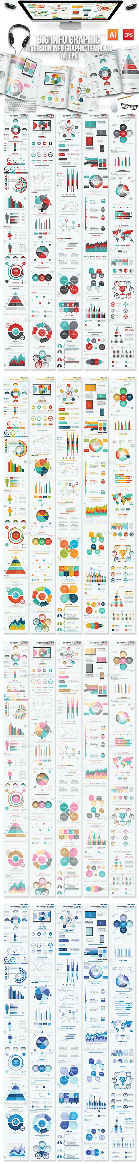 Info Graphic Elements Design - Infographics