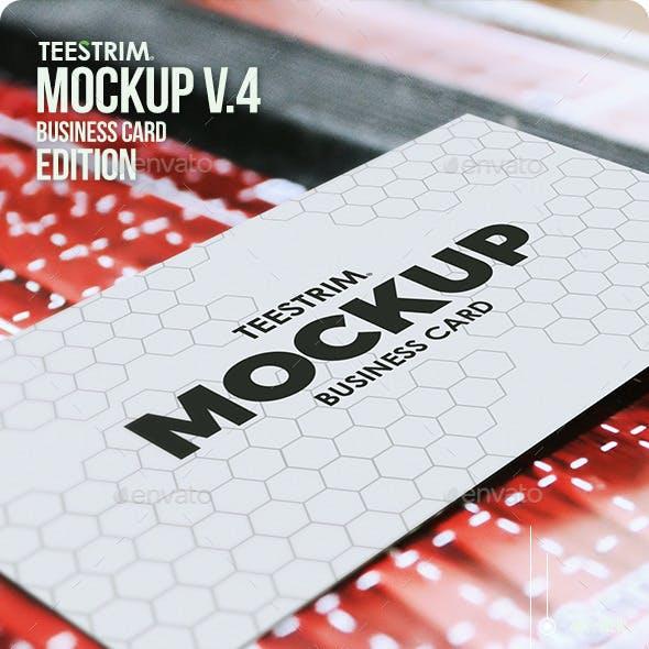 Business Card Mock-Up V.4