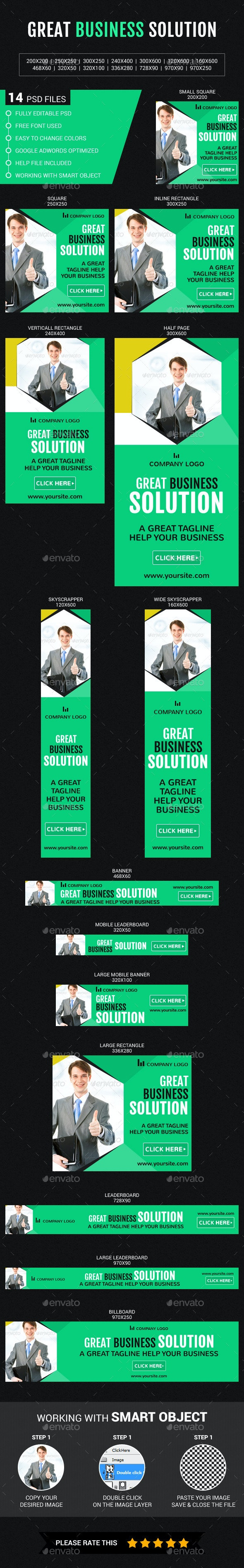 Great Business Solution - Banners & Ads Web Elements