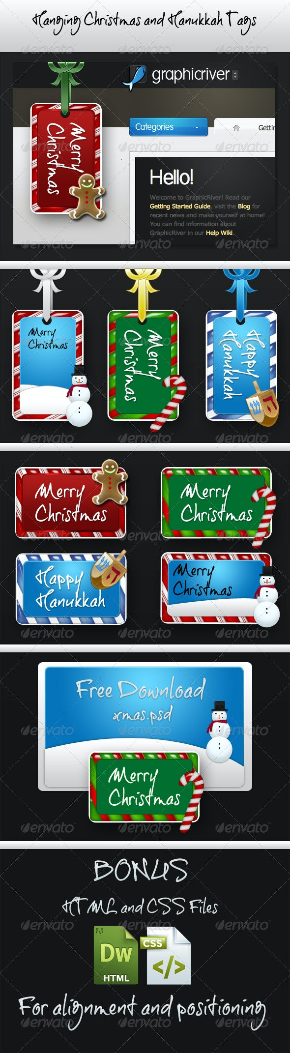 WebLifts Holiday Website Tags - Miscellaneous Web Elements