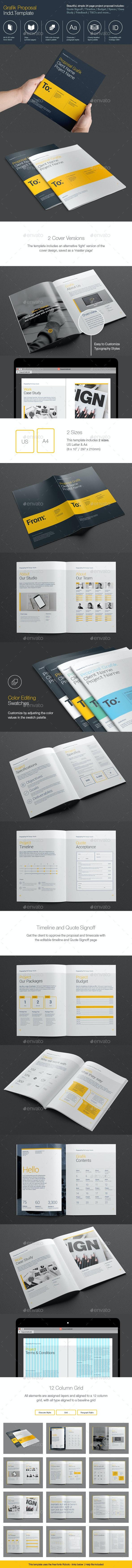 Grafik Proposal - Proposals & Invoices Stationery
