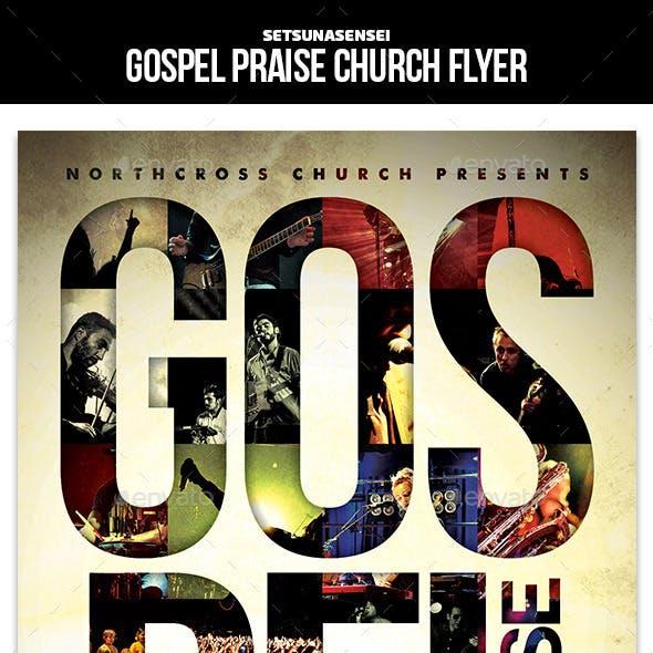 Gospel Praise Church Flyer