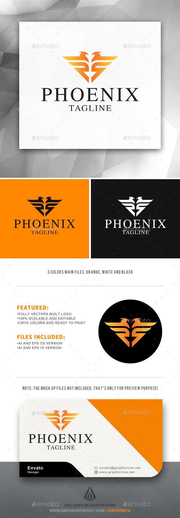 Phoenix Logo - Abstract Logo Templates