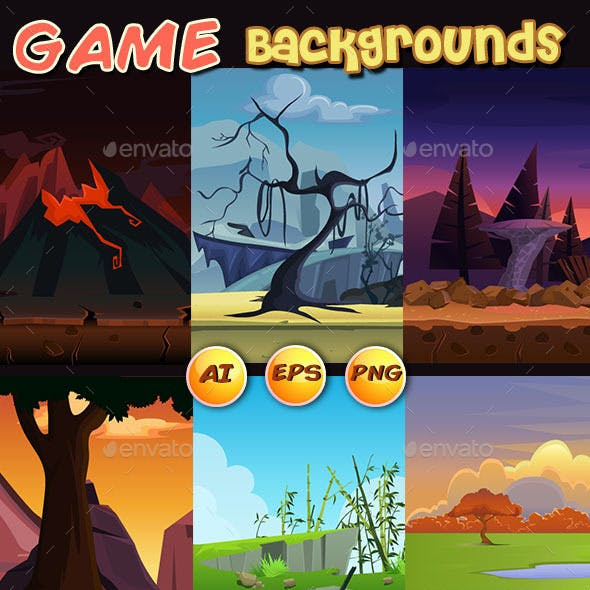 8 game background