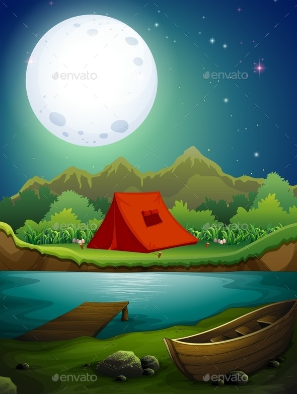 Camping Ground - Landscapes Nature
