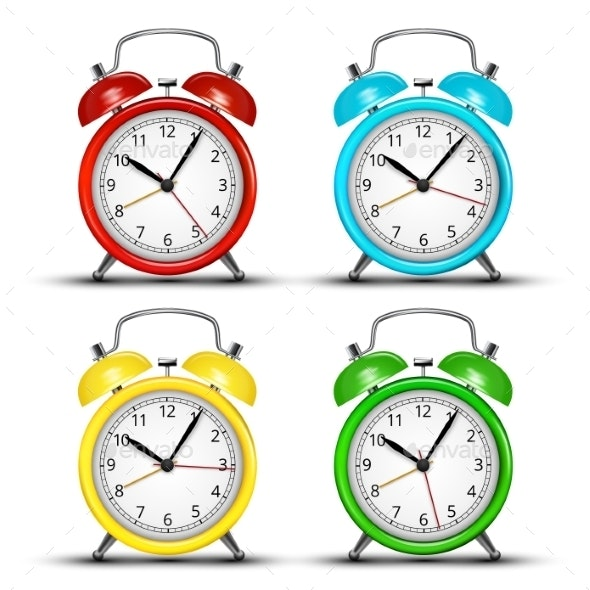 Alarm Clock - Backgrounds Decorative