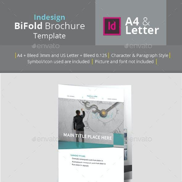 Bifold Brochure A4 & Letter Size
