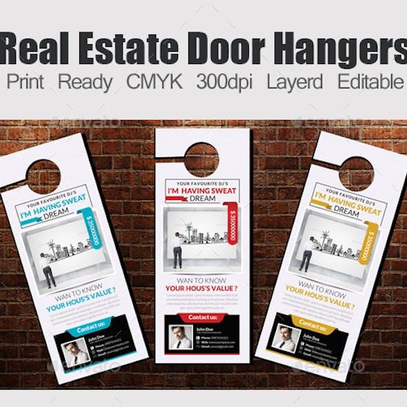 Real Estate Door Hangers Template