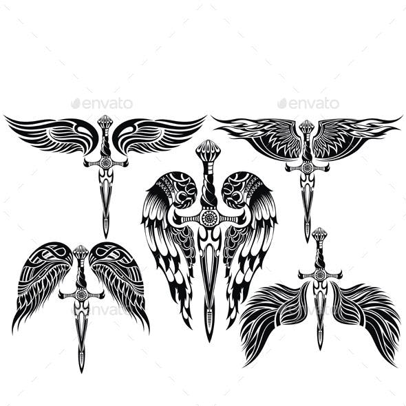 1701130f8 Tribal Tattoo Designs from GraphicRiver (Page 7)