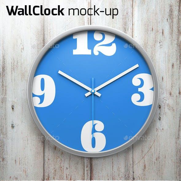 Wall Clock Mock-up