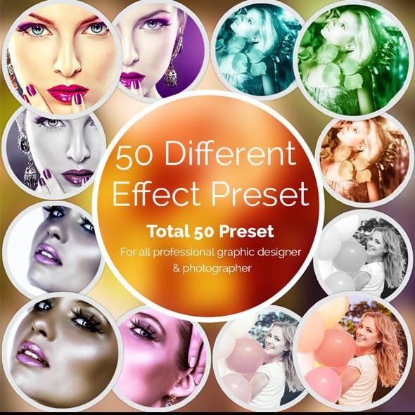 50 Different Effect Preset