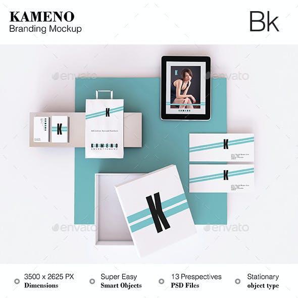 Stationery Mokcup - Kameno