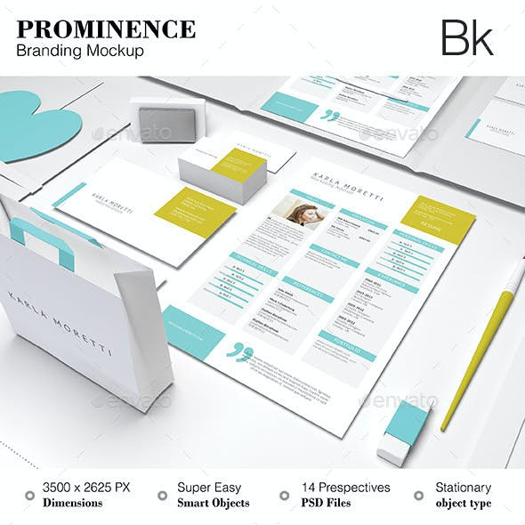 Stationery Mockup - Prominence