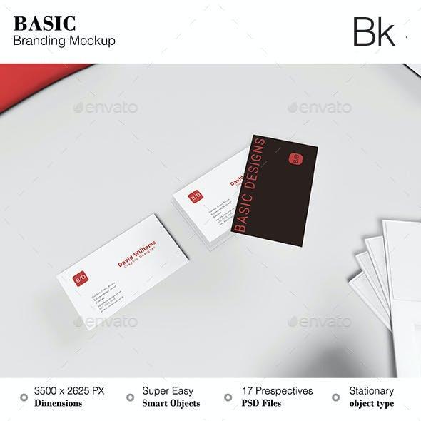 Stationery Mockup - Basic