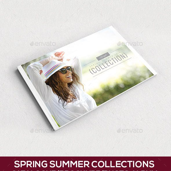 16-Pages-Spring Summer Collections -Catalogue-