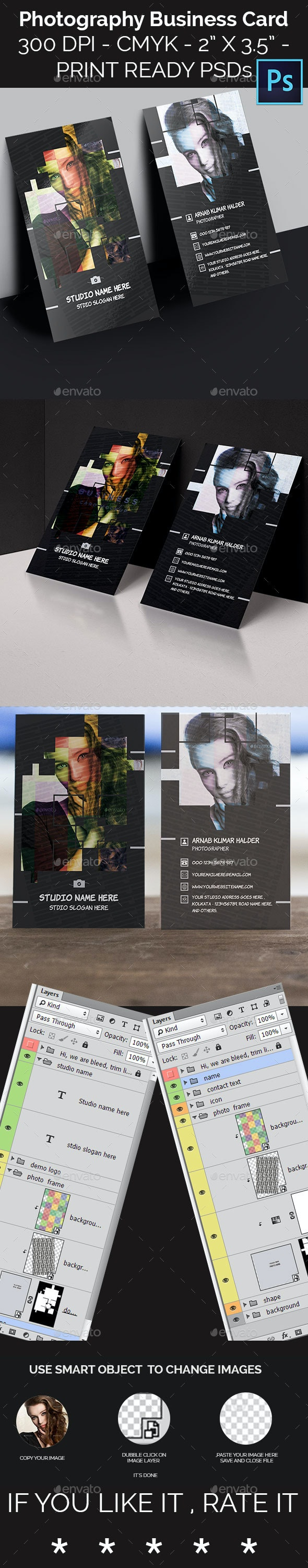 Photography Business Card Templates - Creative Business Cards
