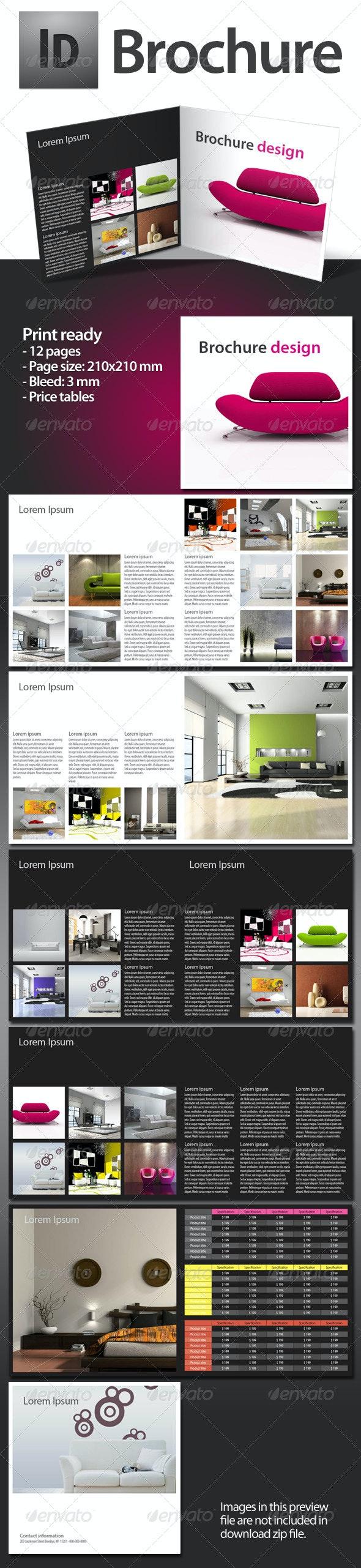 INDD Brochure 210x210mm - Corporate Brochures